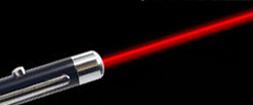 Červené lasery